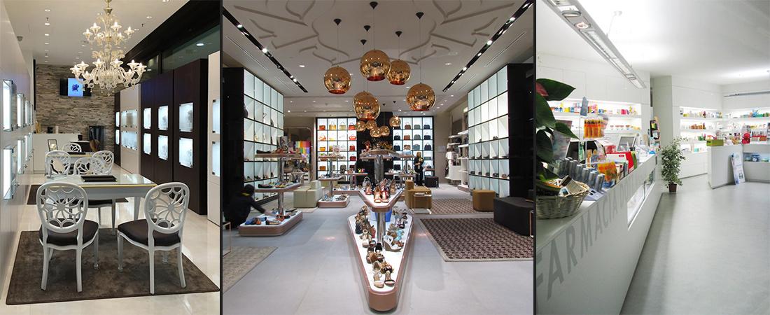 Allestimento negozi e showrooms | Foster Allestimenti