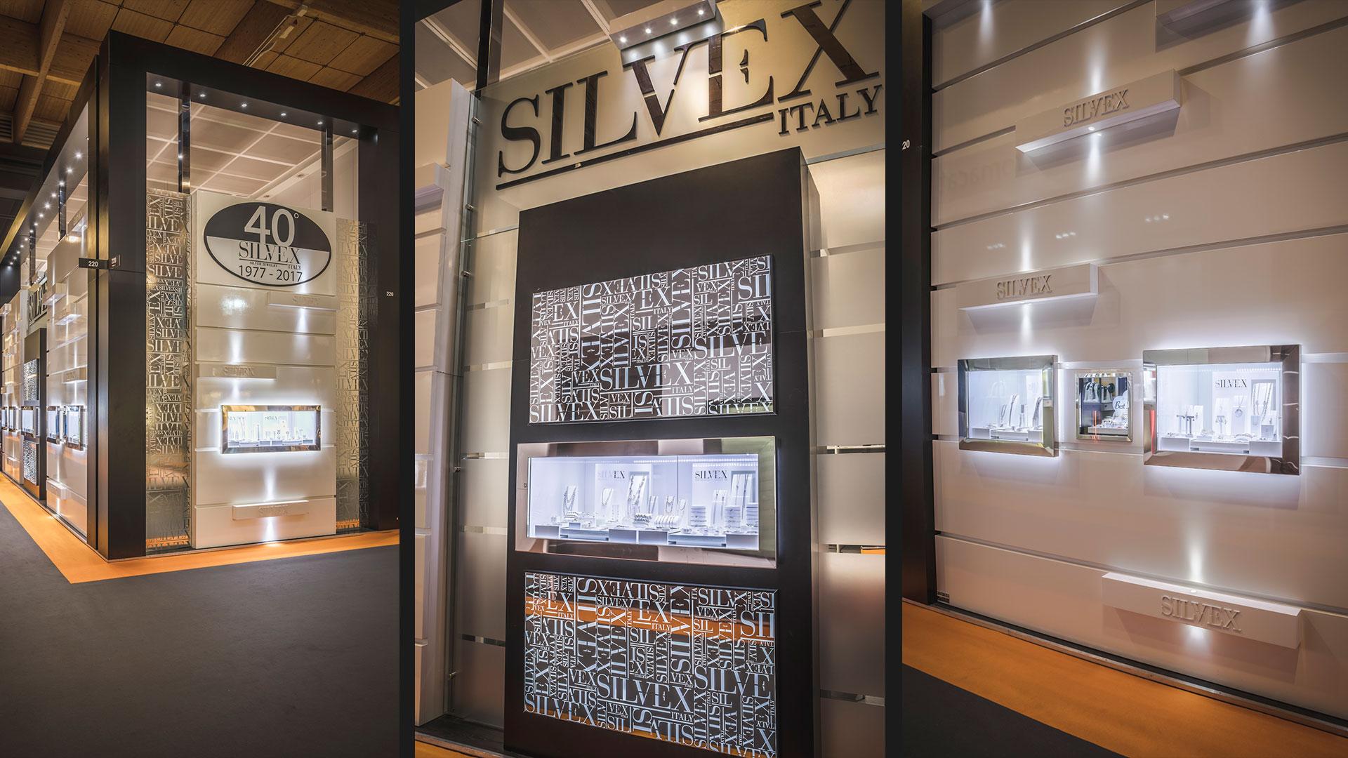Allestitori VicenzaOro stand fiera Silvex | Foster Allestimenti 09