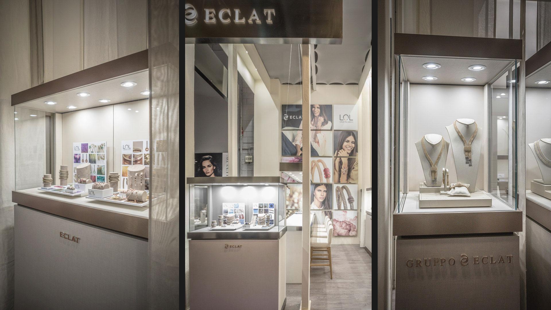 Realizzazione stand fiere VicenzaOro - Eclat | Foster Allestimenti 07