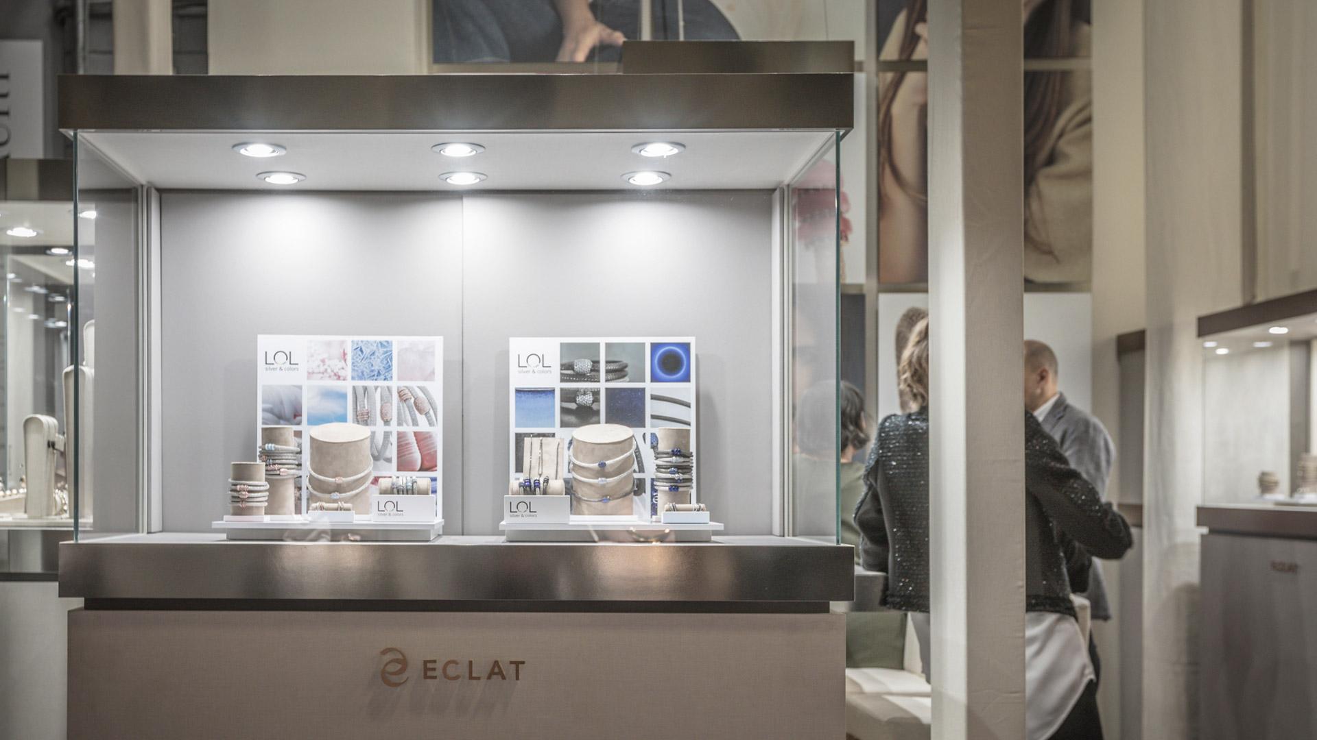 Realizzazione stand fiere VicenzaOro - Eclat | Foster Allestimenti 05