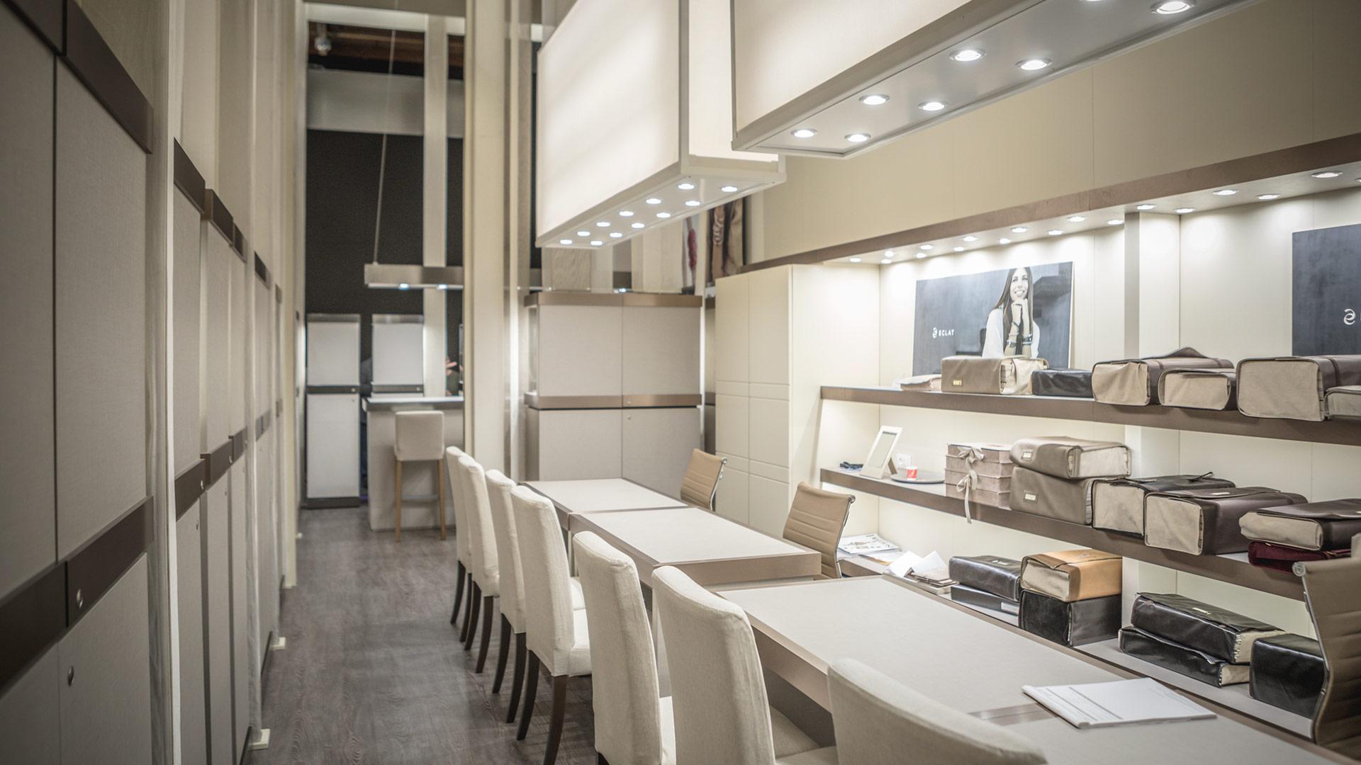 Progettazione stand fiere VicenzaOro - Eclat | Foster Allestimenti 03