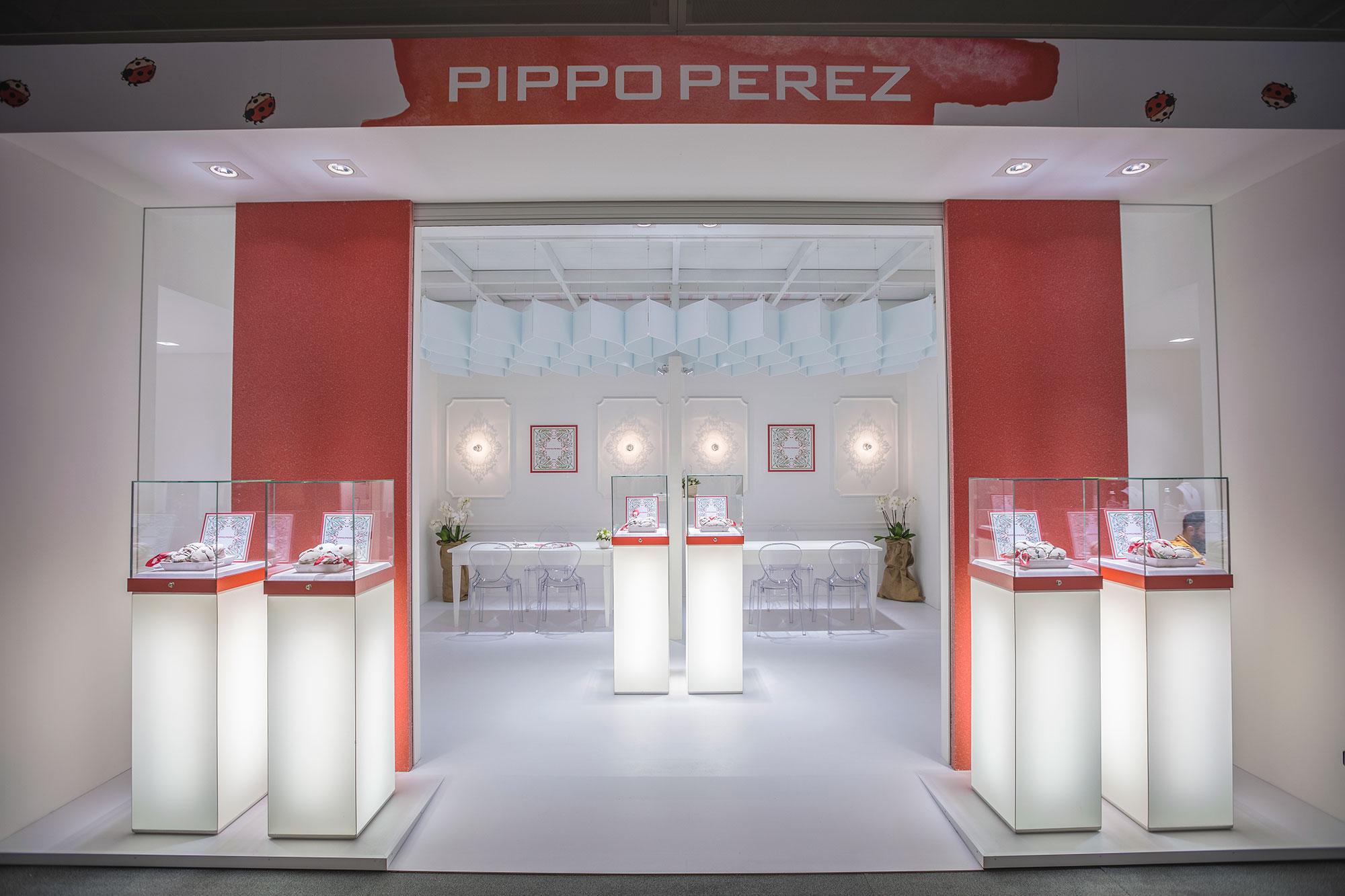 Allestimento stand Pippo Perez fiera Baselworld | Foster Allestimenti 01