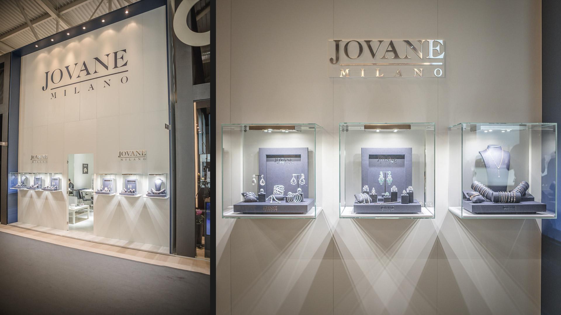 Progettazione stand fiera VicenzaOro - Jovane Milano | Foster Allestimenti 01