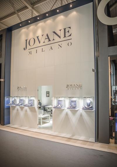 Jovane Milano Exhibition stand - VICENZAORO fair trade | Foster Allestimenti 04
