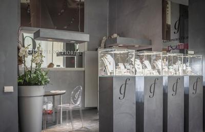 Giampiero Fiorini Exhibition stand - VICENZAORO fair trade | Foster Allestimenti 03