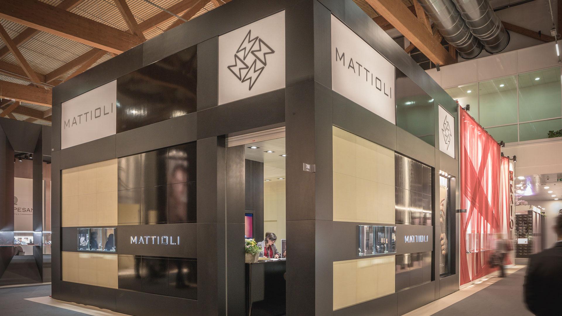 Realizzazione stand fiere VicenzaOro - Mattioli | Foster Allestimenti 08