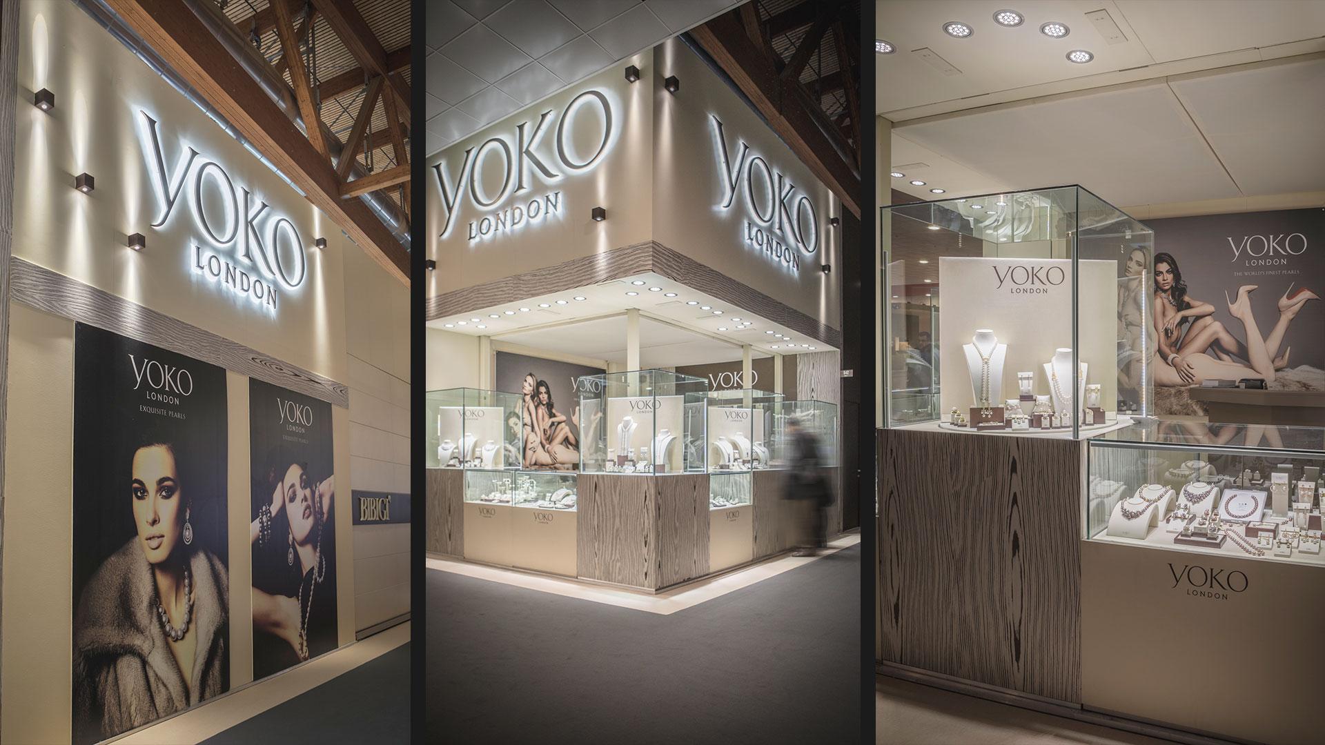 Progettazione stand fiera VicenzaOro - Yoko | Foster Allestimenti 03